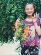 李佳慧,女,15岁,温县祥云镇南贾村人,身高1.55米,体型